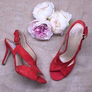 Michael Kors Sangria Heeled Sandals 9M